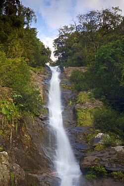 Humbert waterfall, Rainforests of the Atsinanana UNESCO World Heritage Site. Marojejy National Park, Madagascar, December 2015.