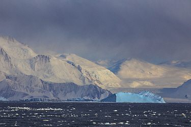 Icebergs, Cape Hallett, Ross Sea, Antarctica. Photographed for The Freshwater Project