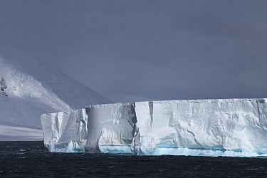 Iceberg, Cape Hallett, Ross Sea, Antarctica. Photographed for The Freshwater Project