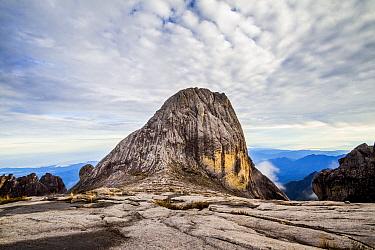 Victoria Peak (4091 m), Mount Kinabalu, Borneo. May 2013.