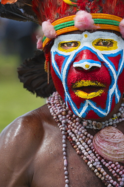 Roika Waria Sing-sing group from Hagen at the Hagen Show in Western Highlands Papua New Guinea. August 2011