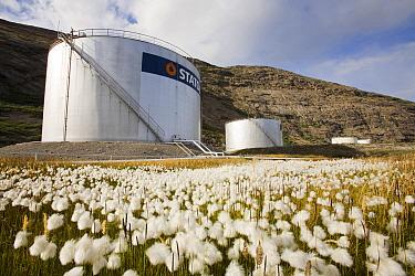 Oil storage depot in Kangerlussuaq, Greenland