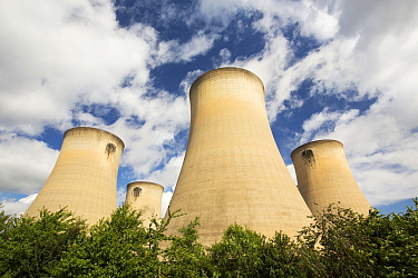 Drax power station in Yorkshire,  the largest emitter of CO2 in Europe. Yorkshire, England, UK.