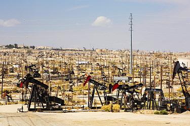 The Midway Sunset oilfield in Taft, Bakersfield, California, USA. September 2014.