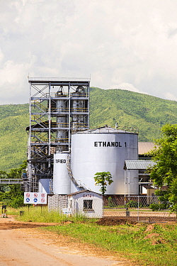 An ethanol plant at Chikwawa in the Shire Valley, Malawi, March 2015.