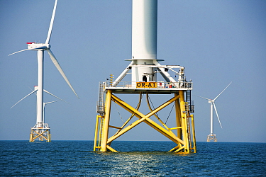 The Ormonde Offshore Wind Farm, Barrow-In-Furness, Cumbria, England, UK. September 2011