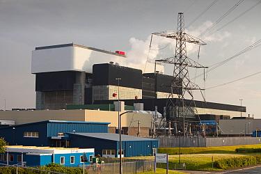 Heysham nuclear power station in Lancashire, England, UK. June 2009