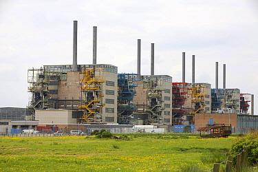 Dismantling of Chapelcross nuclear power station, near Annan Scotland, UK. June 2008