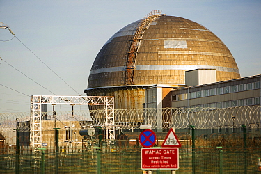 Sellafield nuclear power station near Seascale, West Cumbria, UK. February 2013