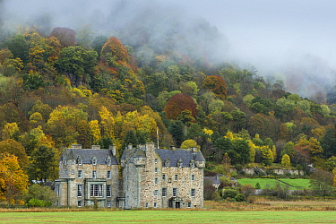 Castle Menzies, Aberfeldy, Perthshire, Scotland, UK. October, 2013.