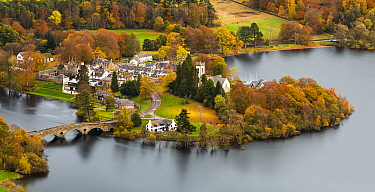 Kenmore on Loch Tay, Perthshire, Scotland, UK. October, 2014.