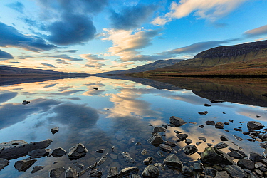 Loch Leathan, Trottenish Peninsula, Isle of Skye, Inner Hebrides, Scotland, UK. January 2014.