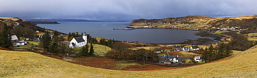 Uig, Isle of Skye, Inner Hebrides, Scotland, UK. February 2016.
