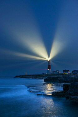 Portland Bill Lighthouse, Isle of Portland, Dorset, England, UK. May 2012.