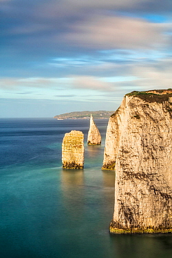 The Pinnacles, Swanage, Dorset, England, UK. May 2014.