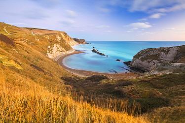 Man O' War Cove, St Oswald's Bay, Jurassic Coast, Dorset, England, UK. December 2013.