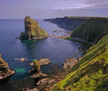 Duncansby Stacks, John O Groats, North Scotland.