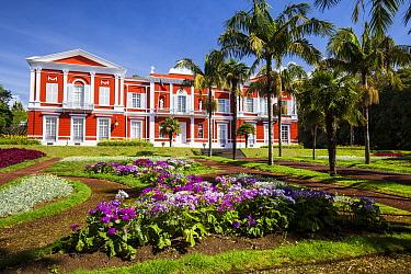 Santa Ana Presidential Palace. Ponta Delgada, Sao Miguel Island, Azores, Portugal. 2019.