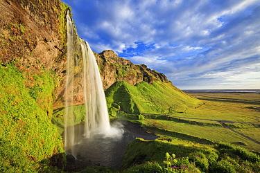 Seljalandsfoss Waterfall, Southern Iceland, July 2009.