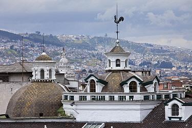 Domes of Church of Santo Domingo, Quito, Ecuador, August 2010