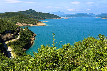 High Island Reservoir, Hong Kong, China November 2016.