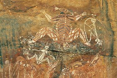 Aboriginal rock art, Queensland, Australia