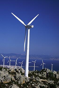 Wind generators in Spain