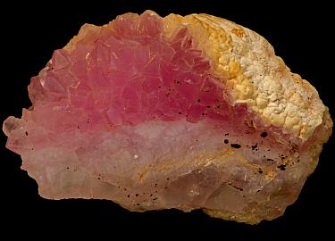 Rose Quartz SiO2 from Minas Gerais, Brazil.