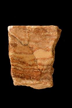 Alabaster, a type of gypsum CaSO42H2O, from Garden of the Gods, Colorado, USA.