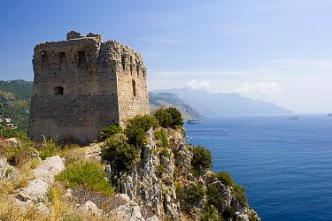Torre di Montalto. Punta Campanella Marine Protected Area, Costa Amalfitana, Italy. July.