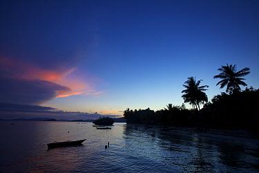 Sunset from Saporkren Village, Waigeo Island. October 2 010