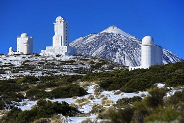 Teide Observatory, Teide National Park, UNESCO World Heritage Site, Tenerife, Canary Islands.