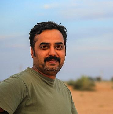 Portrait of photographer Yashpal Rathore, India