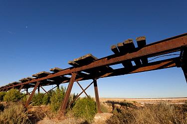 Old Ghan Railway line along the Oodnadatta Track, South Australia, June 2011