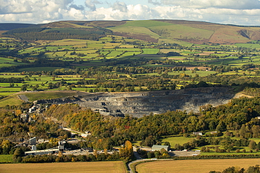 Dolyhir/Strinds Quarry, Old Radnor and Black Mixon and Great Rhos, Radnorshire Forest, Radnorshire, Wales, October.