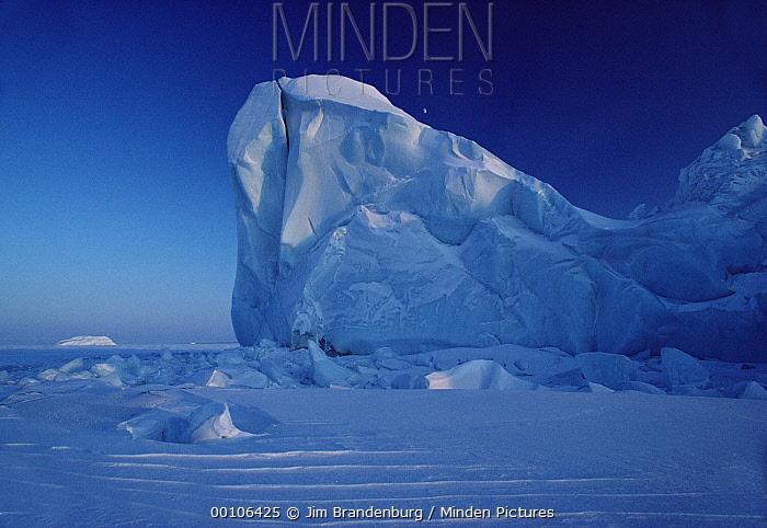 Iceberg, Ellesmere Island, Nunavut, Canada  -  Jim Brandenburg
