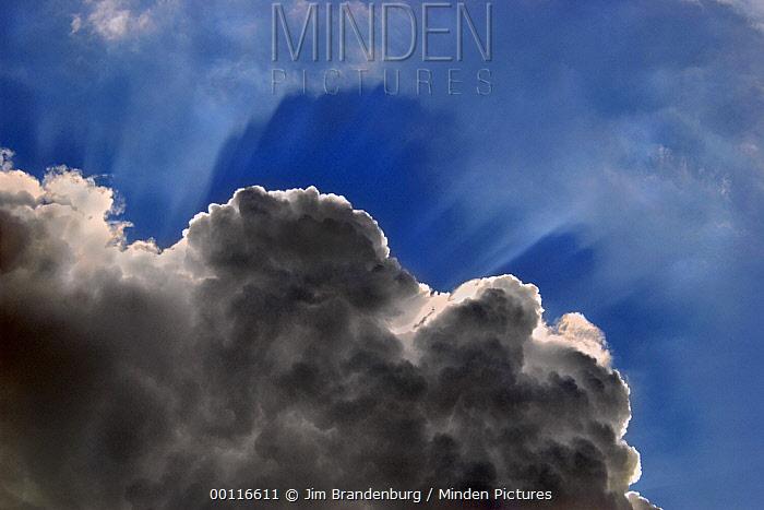Cumulus clouds, Northwoods, Minnesota  -  Jim Brandenburg