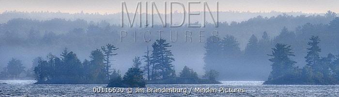 Islands of Shagawa Lake, Boundary Waters Canoe Area Wilderness, Minnesota  -  Jim Brandenburg