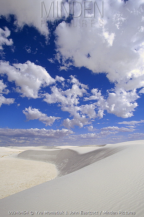 Sand dunes, White Sands National Monument, New Mexico