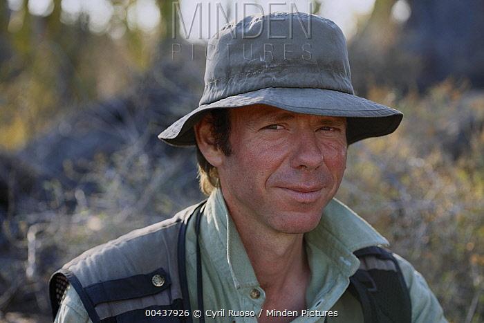 Portrait of photographer Cyril Ruoso  -  Cyril Ruoso