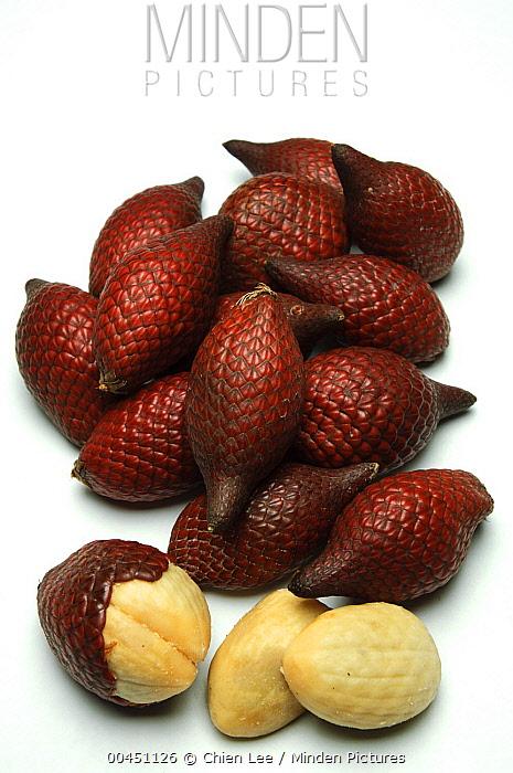 Salacca (Salacca sp) fruit, Kuching, Borneo, Malaysia  -  Ch'ien Lee