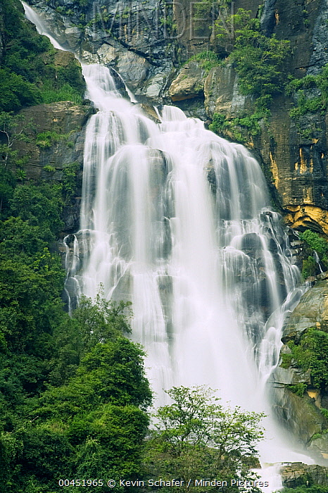 Ravana Falls, southern Sri Lanka  -  Kevin Schafer
