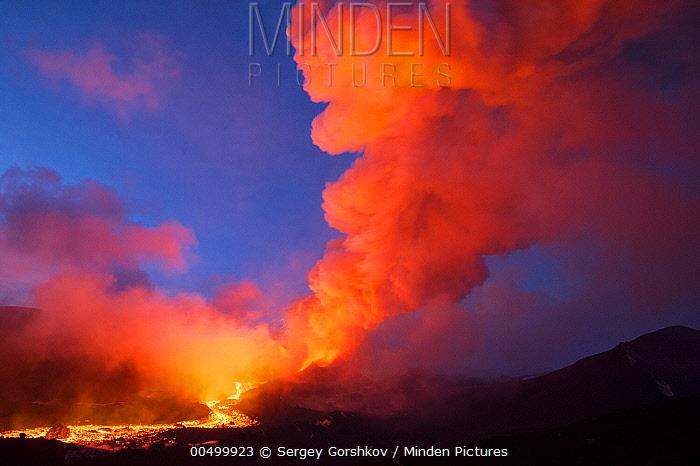 Eruption of Tolbachik Volcano, Kamchatka, Russia  -  Sergey Gorshkov
