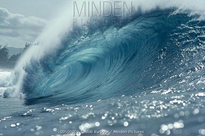 Waves, Pipeline, Hawaii  -  Bob Barbour