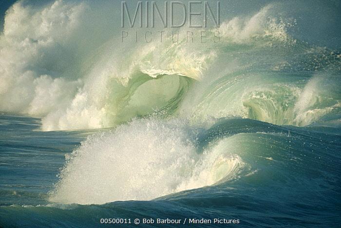 Breaking and crashing waves  -  Bob Barbour