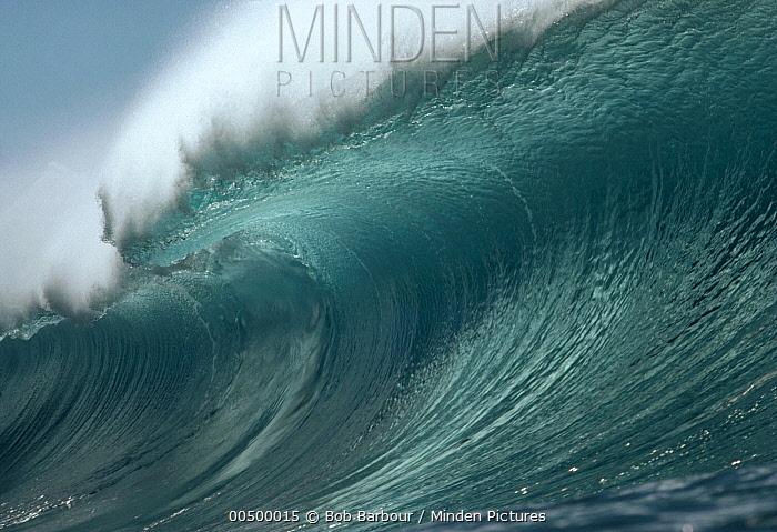 Wave ready to break  -  Bob Barbour