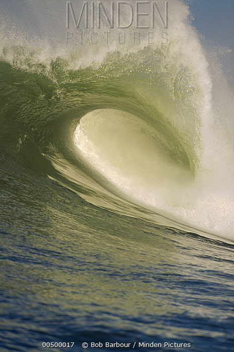 Close up of breaking wave  -  Bob Barbour