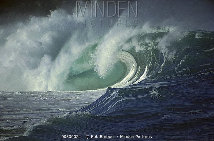 Breaking Waves, Hawaii  -  Bob Barbour