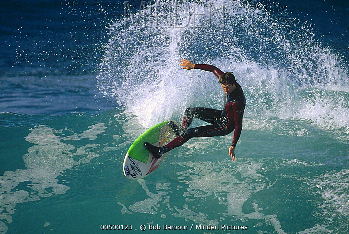 Josh mulcoy, December 1997, central coast, California  -  Bob Barbour
