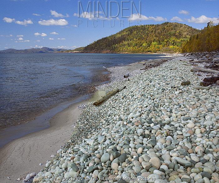 Pebble Beach, Lake Superior, Ontario, Canada  -  Tim Fitzharris